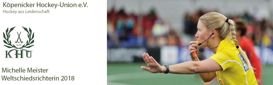 Was für eine Ehre – Michelle Meister wird Weltschiedsrichterin 2018